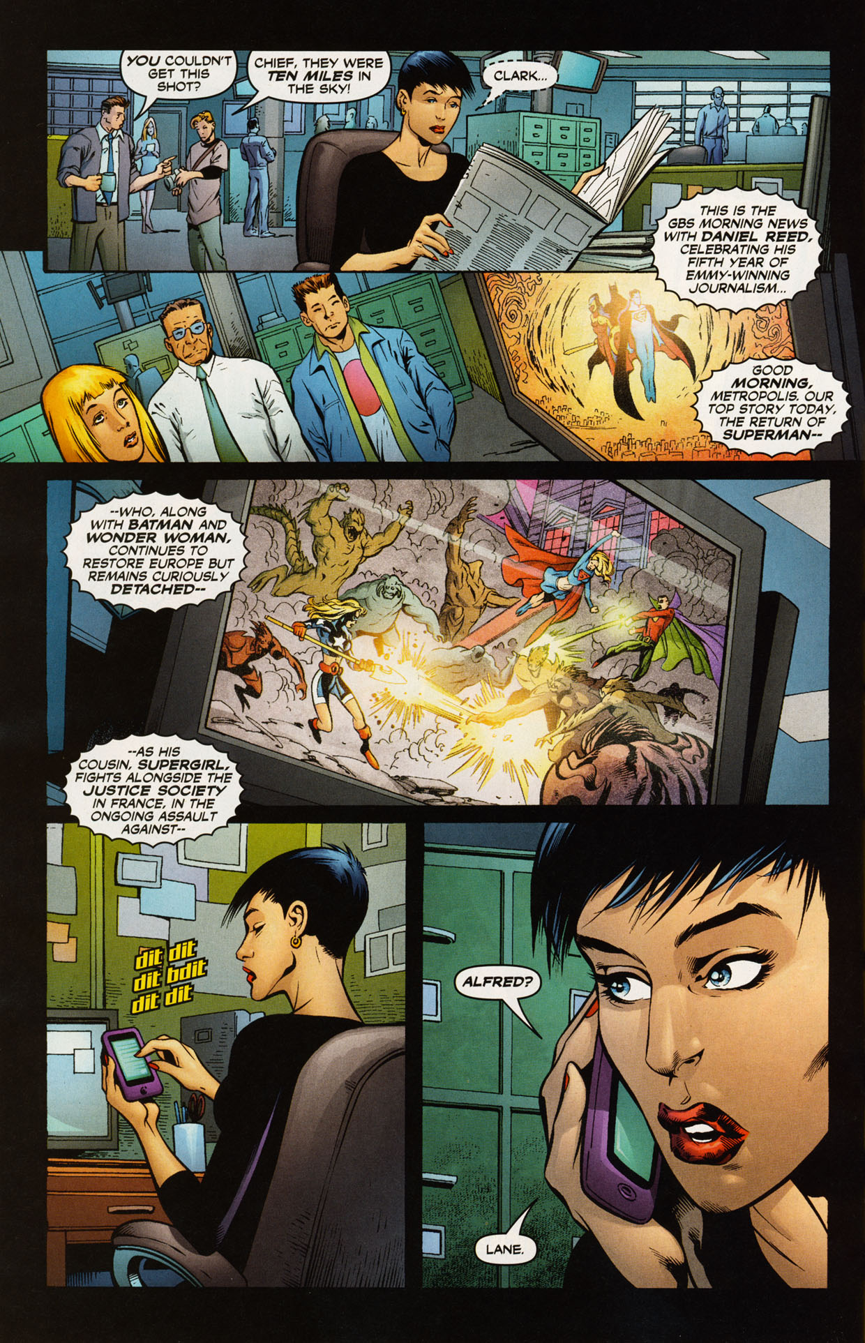 Read online Trinity (2008) comic -  Issue #43 - 19