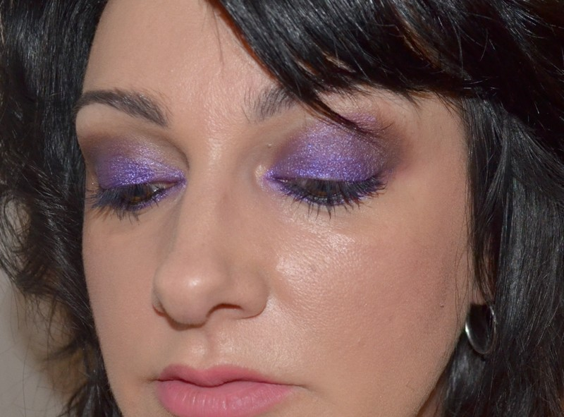 Makeup Purple , maquillage violet
