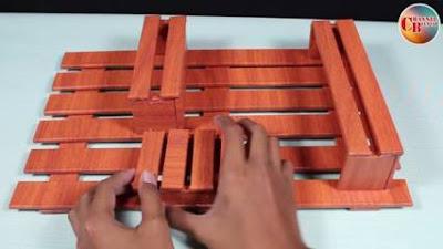 Cara Membuat Rak Tempel dari Kardus Untuk Dinding Kamar Kita