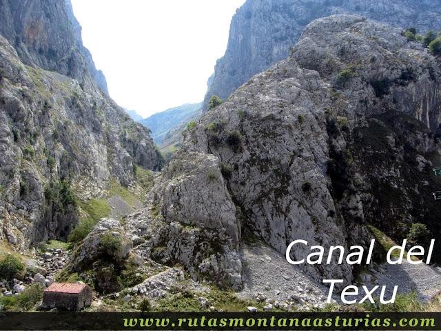Ruta Caín Terenosa: Canal del Texu desde Bulnes