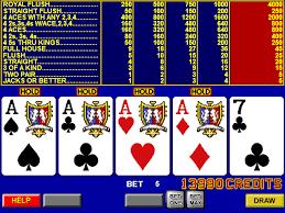 Cara Bermain Video Poker - Cara Pilih Permainan Untuk Bermain