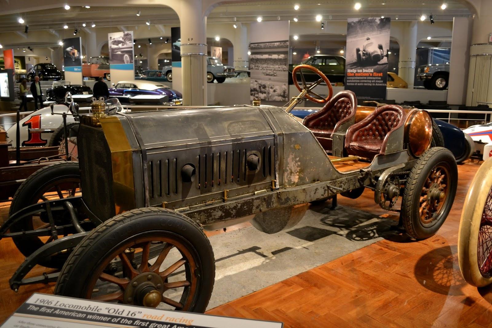 """Локомобиль 1906 года (1906 """"Locomobile"""" Old 16) -  великая американская гоночная машина"""