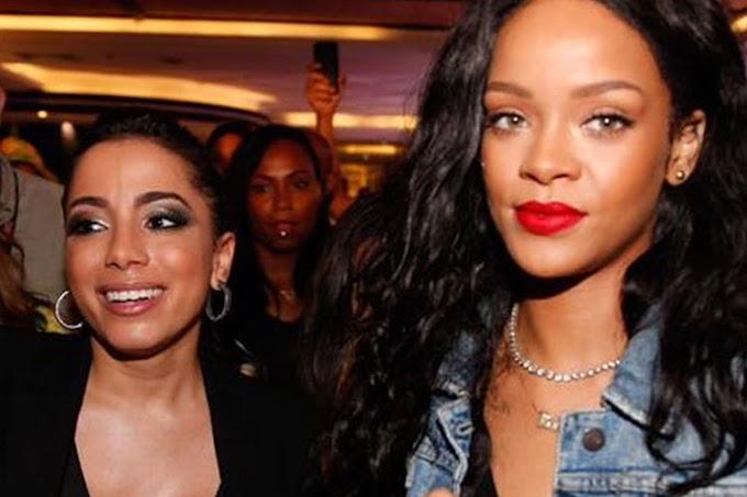 Anitta grava parceria com Rihanna, diz revista argentina