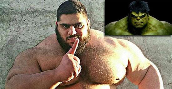Conheça o incrível 'Hulk' iraniano que surpreendeu o mundo