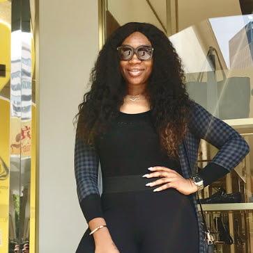 ebube nwagbo finds love dubai