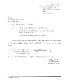 latest paripatra- chutni kamgiri valatr raja - mahesana-Dt- 11/4/2016