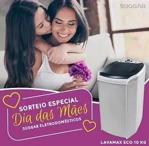 Promoção Suggar Eletrodomésticos Dia das Mães 2019 - Concorra Lavadora Lavamax