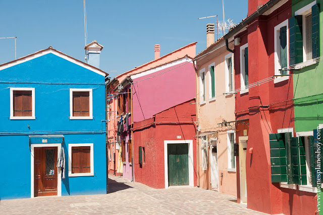 Burano viaje turismo Italia