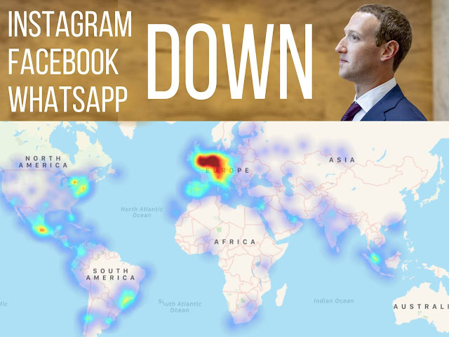 Instagram Facebook WhatsApp Down Worldwide Seluruh Dunia