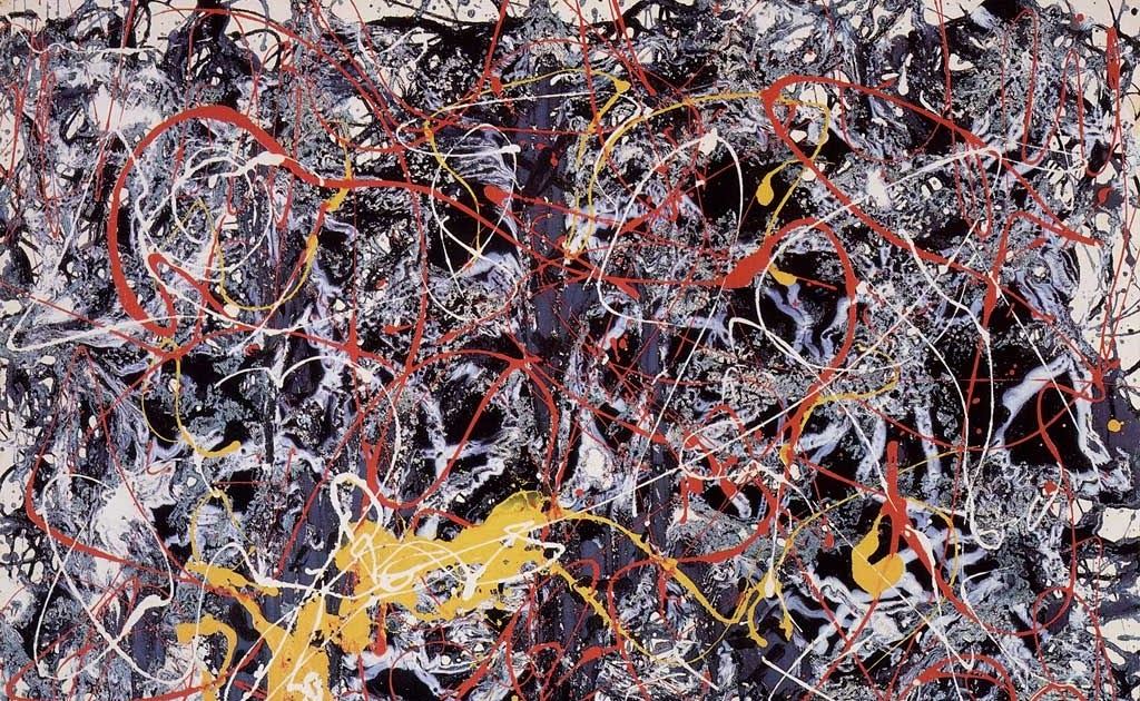 Abstracted For Life  Jackson Pollock