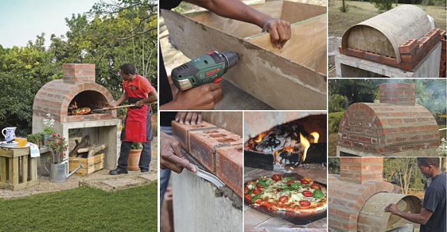 How to Build Your Own Outdoor Pizza Oven
