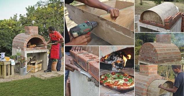 how to build your own outdoor pizza oven handy diy