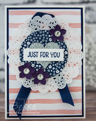 A Card Just for You Made Using Stampin' Up! UK Supplies