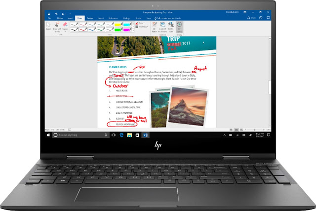 HP Envy x360 with Windows Ink