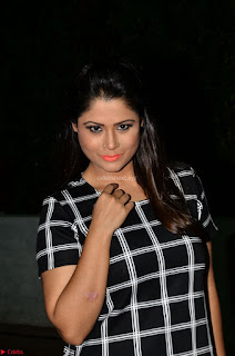 Shilpa Chakravarthy in Dark blue short tight dress At Srivalli Movie Pre Release Event ~ Exclusive Celebrities Galleries 031