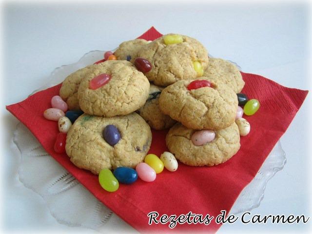 Cookies sin gluten y sin lactosa
