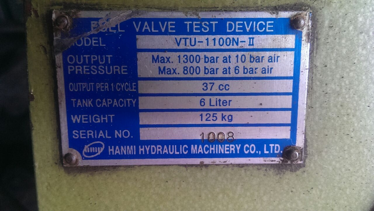 Takamaz Machinery Co Ltd Mail: IDEAL DIESEL MARINE: Vtu1100N Mk2 Hanmi Hydraulic