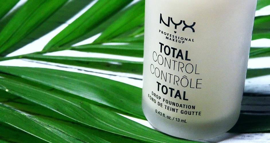 TOTAL CONTROL DROP FOUNDATION / NYX- ODCIEŃ PALE01, bardzo jasna cera, podkład do jasnej cery