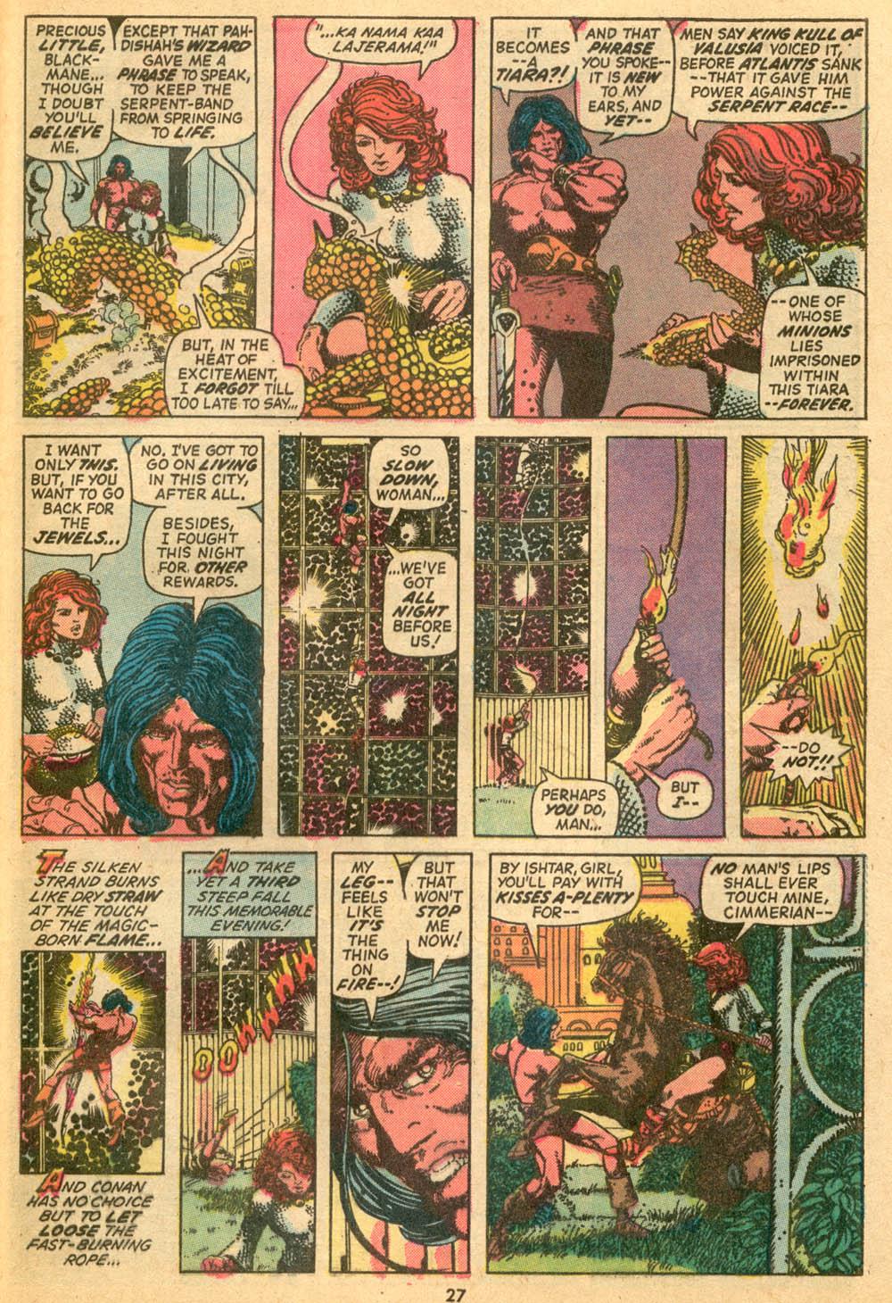 Conan the Barbarian (1970) Issue #24 #36 - English 20
