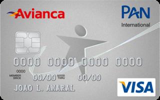 Cartão Pan Avianca Visa Internacional