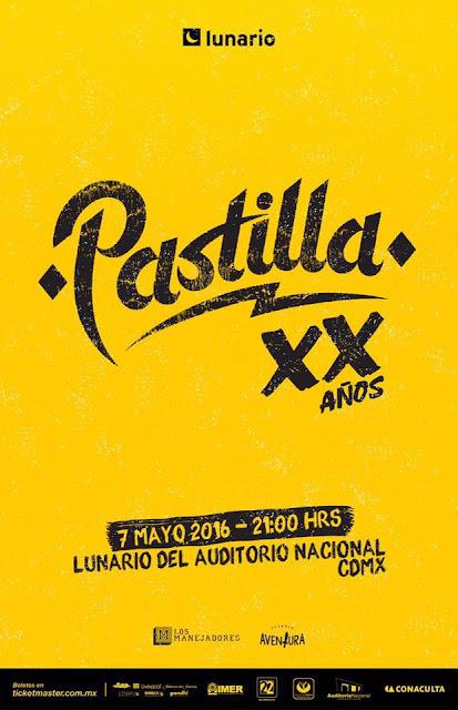 Pastilla celebra sus XX años en El Lunario