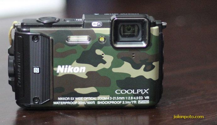 Kamera tahan air Nikon Coolfix Aw130