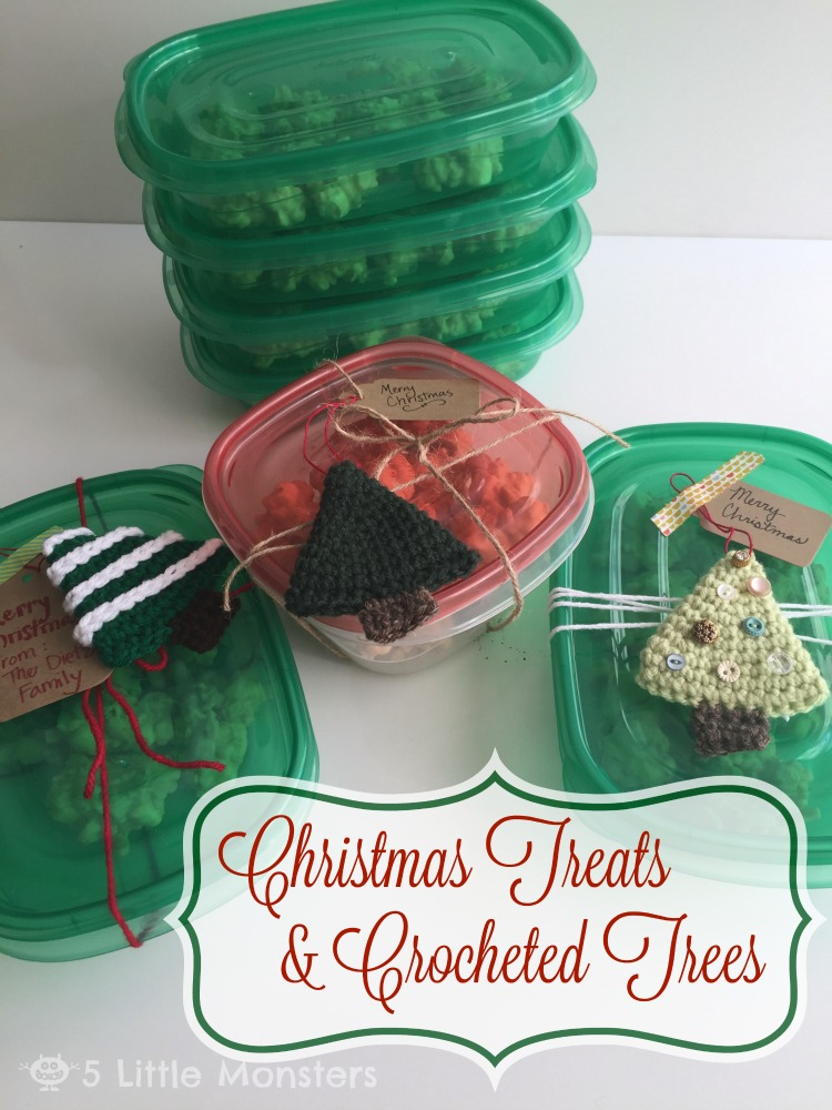 recipe for christmas candy and free crochet pattern for christmas tree ornaments