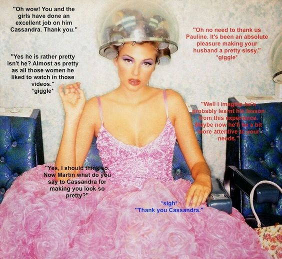 World TG Captions: Excellent Makeover Sissy TG Caption