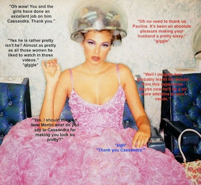 Excellent makeover Sissy TG Caption - World TG Captions - Crossdressing and Sissy Tales and Captioned images