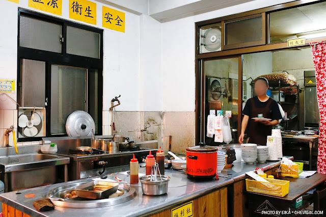 MG 5498 - 沙鹿拉仔麵,在懷舊的國小教室裡吃飯,月見豬油飯有可愛笑臉超療癒!