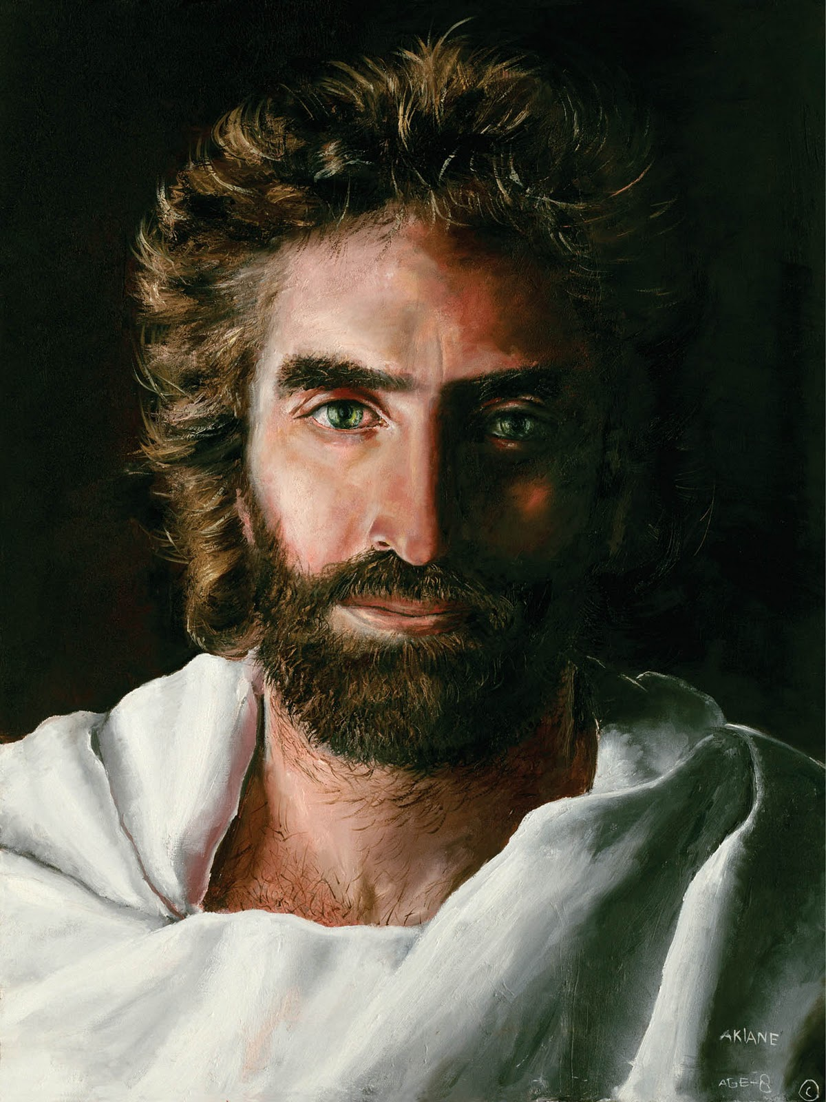Heaven Is For Real Picture Of Jesus By Akiane