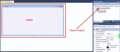2 - Cara Menciptakan Tes Koneksi Ke Database Mysql Di Vb.Net Memakai Connector Odbc