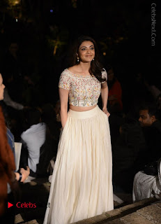 Actress Kajal Agarwal Latest Pos at LFW Summer 2017  0004.jpg