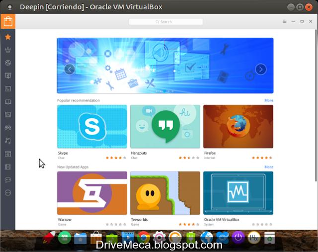 DriveMeca instalando Linux Deepin paso a paso