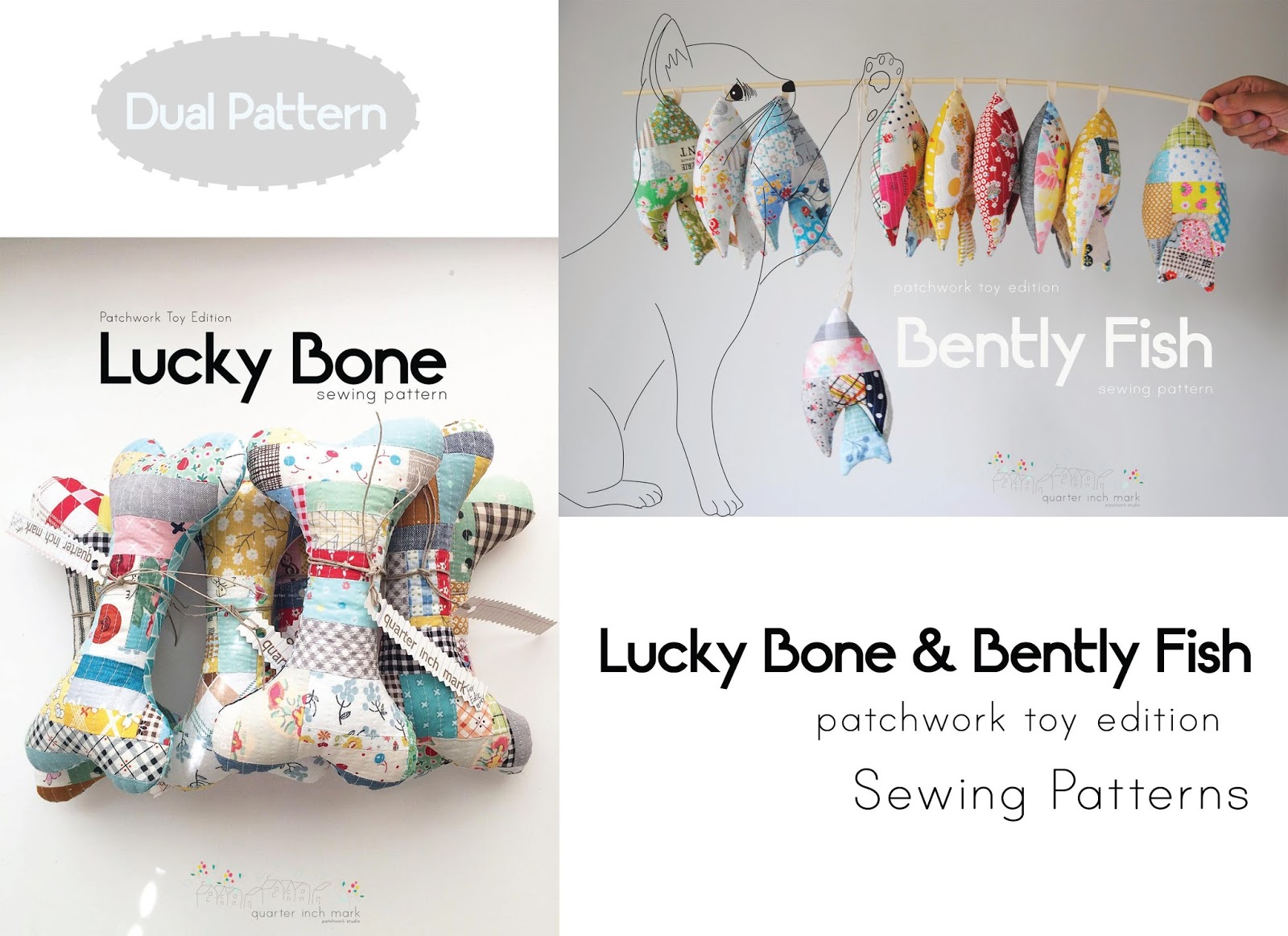 14 mark bently fish patchwork sewing pattern bently fish patchwork toy sewing pattern comes with 7 pages of step by step instructions and included one template page jeuxipadfo Image collections