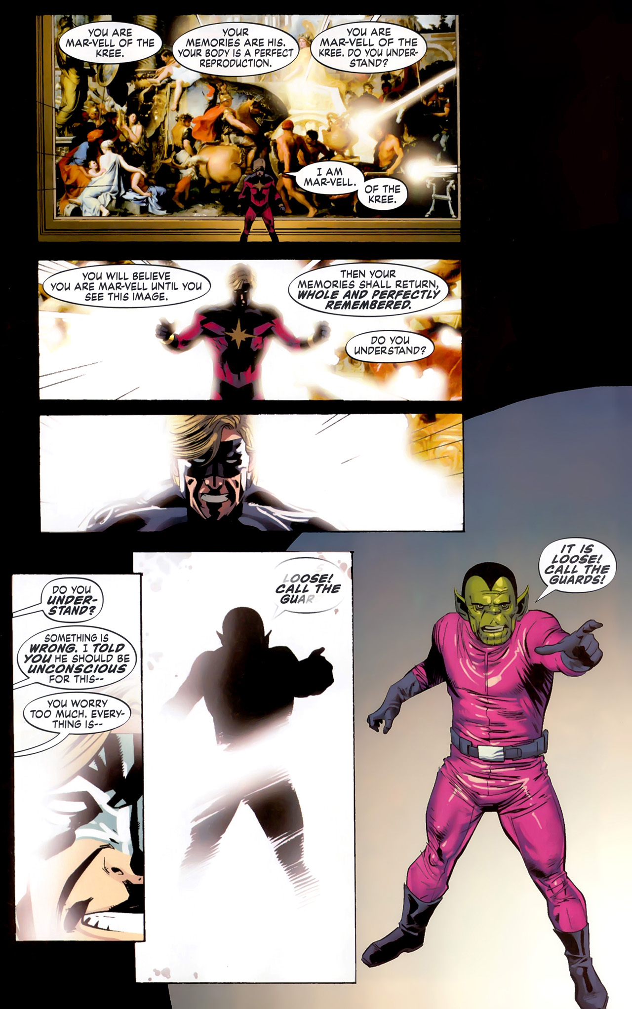 Read online Secret Invasion: The Infiltration comic -  Issue #6 - 10