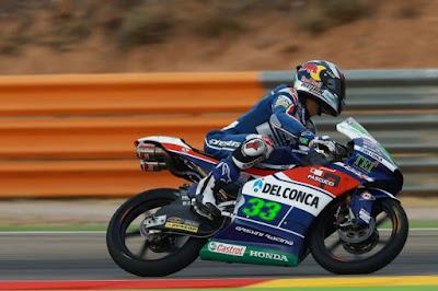 Hasil Lenglap Kualifikasi Moto3 Aragon, Spanyol 2016