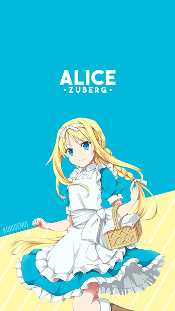 Alice Zuberg - Sword Art Online: Alicization Wallpaper