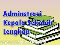 Download Contoh Format Administrasi Kepala Sekolah Lengkap