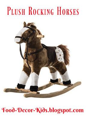 Plush Rocking Horses