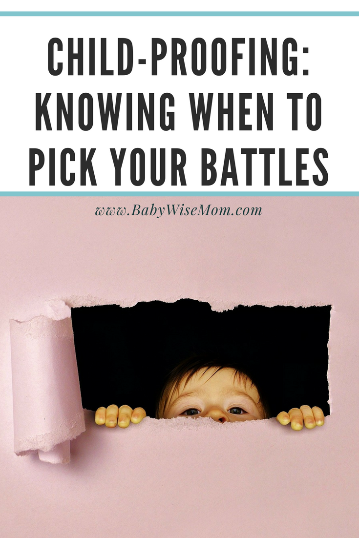 House Proofing vs. Child Proofing with a picture of a child