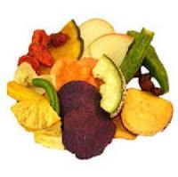 Cemilan Sehat Anak Untuk Mencegah Obesitas -  keripik buah dan sayuran