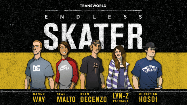 Transworld Endless Skater Android Para Hileli MOD APK - androidliyim