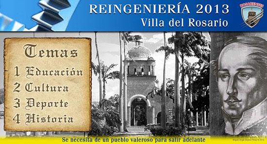Rosarienses.com le apuesta a un proyecto de Reingeniería para Villa del Rosario en el 2013 | Rosarienses, Villa del Rosario