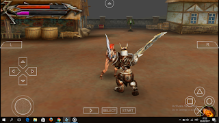 Tehra Dark Warrior PPSSPP ISO Highly Compressed