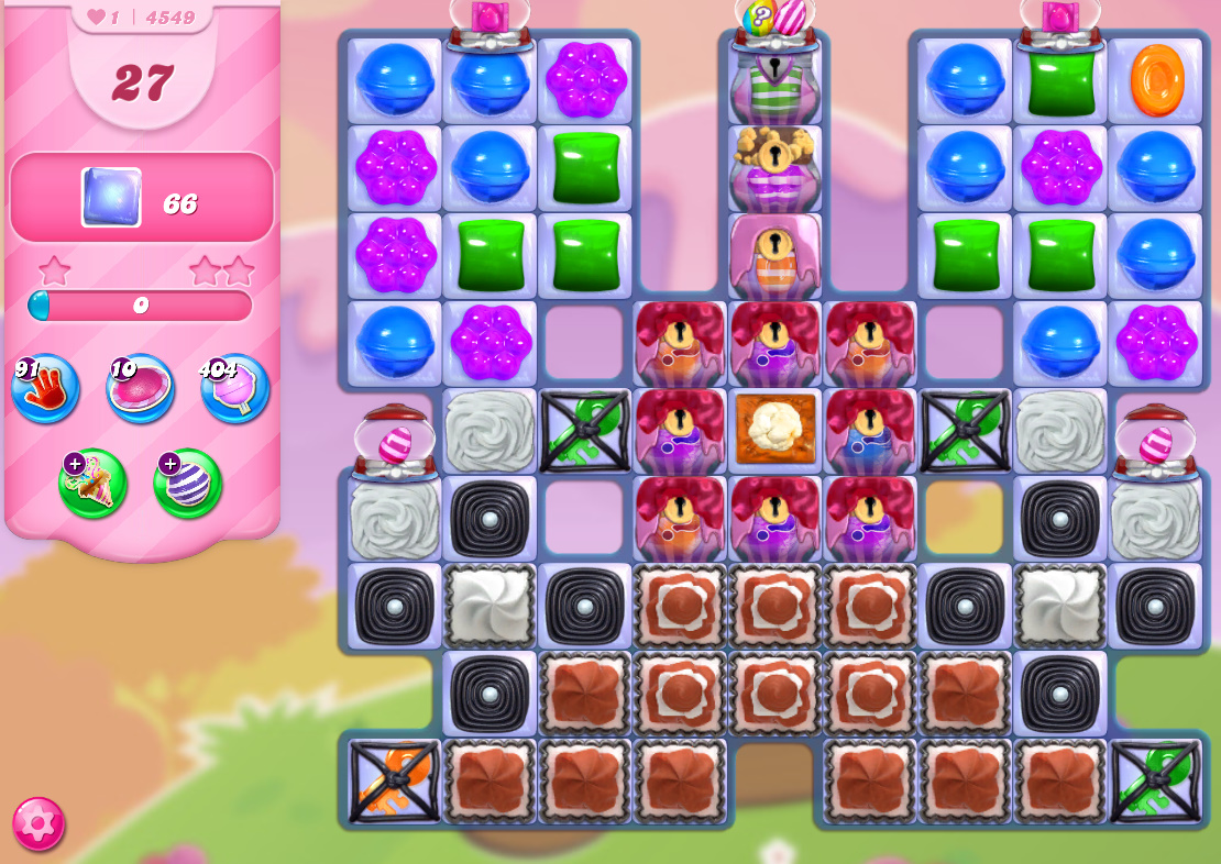 Candy Crush Saga level 4549