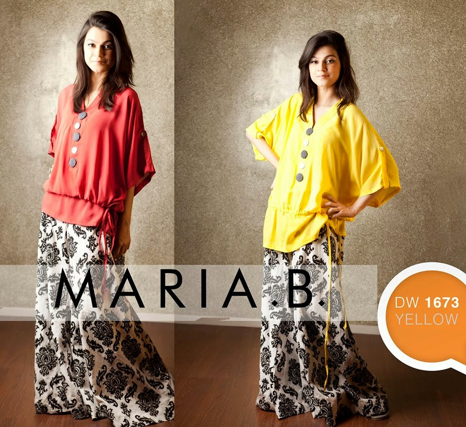 Maria B. Designer Plazo collection 2014