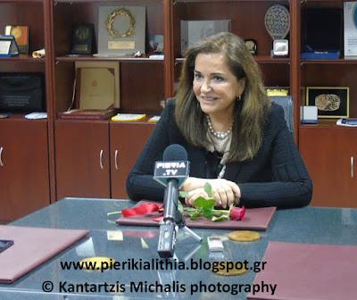 Ντόρα Μπακογιάννη από Κατερίνη. Επιμένω στις περικοπές 350 εκατομμυρίων ευρώ από τις Ένοπλες Δυνάμεις της χώρας. (Αποκλειστικό βίντεο)