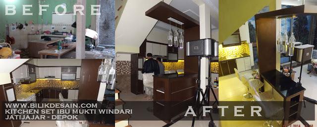 Harga Jasa Kitchen Set Murah Bintaro Ciputat