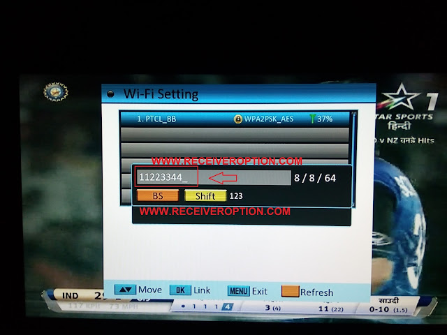 HOW TO CONNECT WIFI IN SUPER GOLDEN LAZER 2012 HD RECEIVER